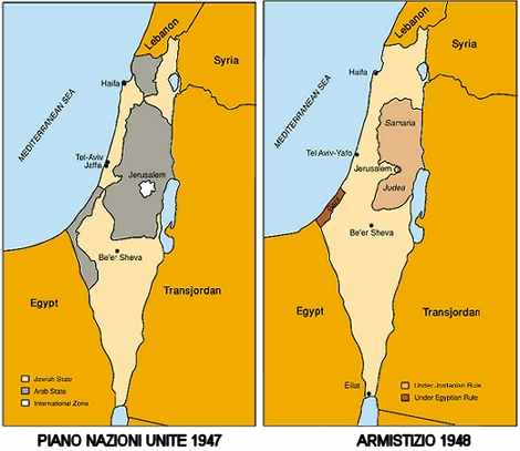 Cartina Geografica Della Palestina Di Oggi.Storia Della Palestina